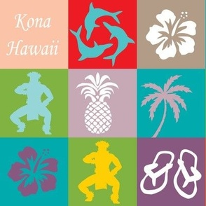 Kona Hawaii Cheater Pattern