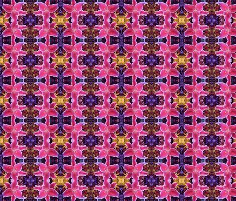 fabric_lily fabric by curreyart on Spoonflower - custom fabric