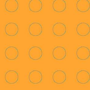 Orange and Circles