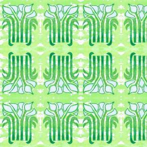 Art Nouveau Lillies