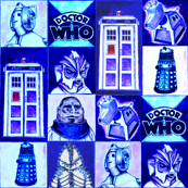 Dr Who Classic in Blue