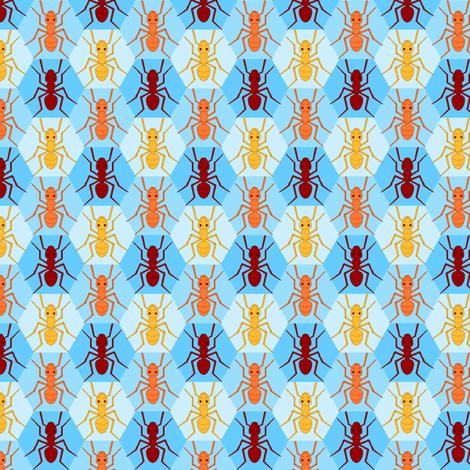 ant 1x 3 hex (azure)