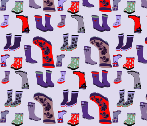 April Showers in Style fabric by bootki on Spoonflower - custom fabric