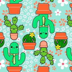 Happy Cacti