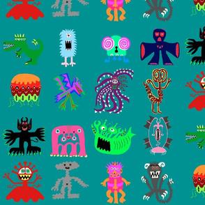 sixteen Monsters