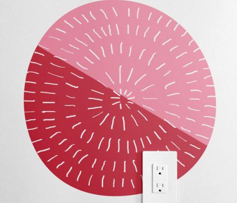 Mod Red Flower by Friztin