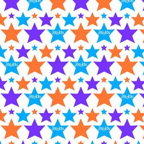 starsblueorangepurpleJordan