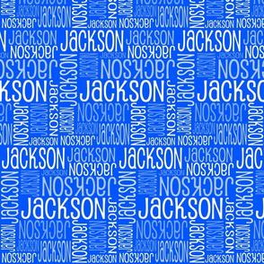Personalised Name Design - Royal Blue