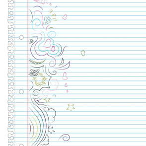 Notebook Doodles Border