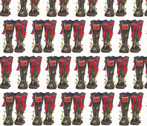 wellies fabric by sadiesue on Spoonflower - custom fabric