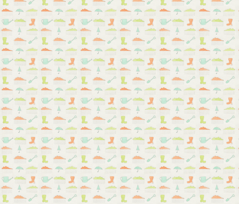 Wellies! fabric by t-w-i-n-k-l-e on Spoonflower - custom fabric