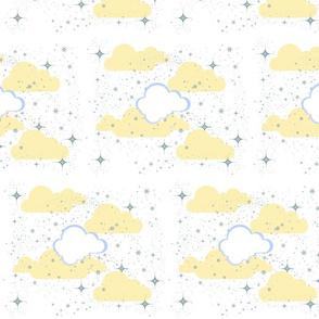 Starry Night Cream Puff -Template