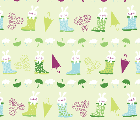 Ready for Rain fabric by tonia_dee on Spoonflower - custom fabric