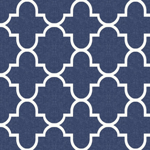 Bristol in Navy Linen