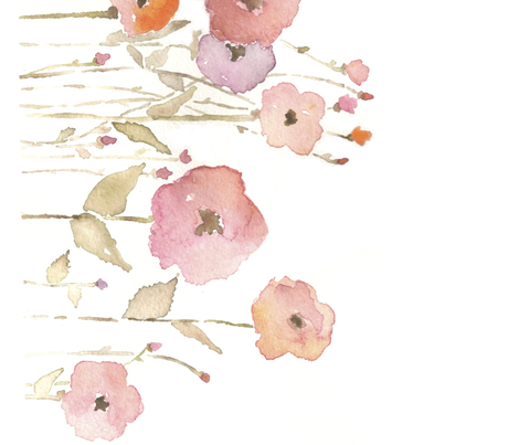 Watercolour Garden Repeat