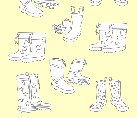wellies4 fabric by thlailax on Spoonflower - custom fabric
