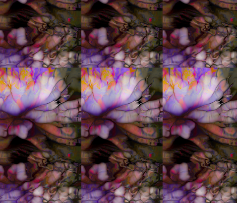 158-7L-Bb15x25Water Lilies fabric by jackdon on Spoonflower - custom fabric
