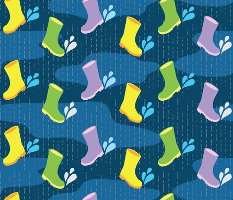 SpringStomp fabric by dkaiser on Spoonflower - custom fabric