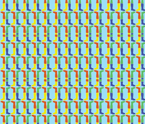 325014_Wellies fabric by shukodesigns on Spoonflower - custom fabric