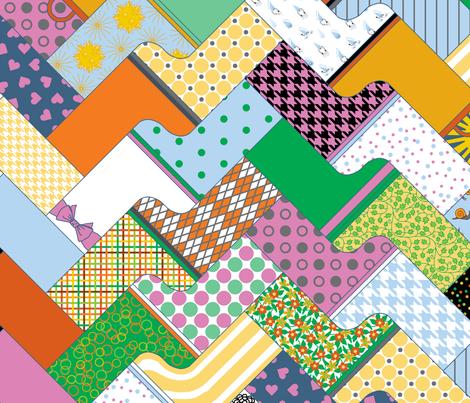 wonderful wild wellies fabric by victorialasher on Spoonflower - custom fabric