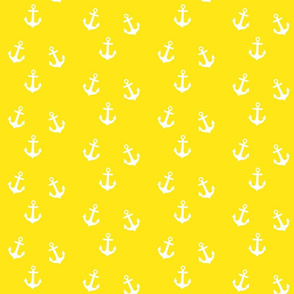 Anchors on Yellow
