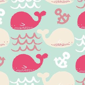 Cute Ocean Whales