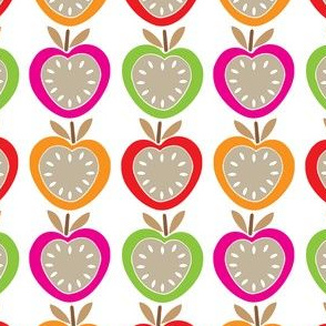 Colourful Juicy Apples