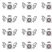 Companion Cube Angel Rows