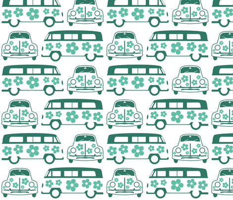 Green Campers & Beetles