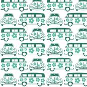 Green Campers & Beetles