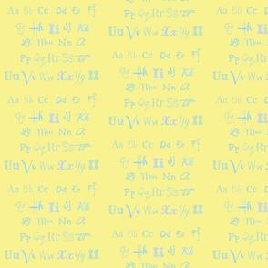 The Alphabet-ch-ch-ed