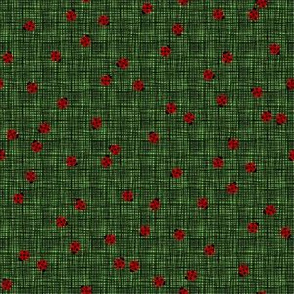 Ladybugs (Green Background)