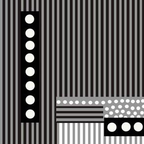 stripes and spots monotone