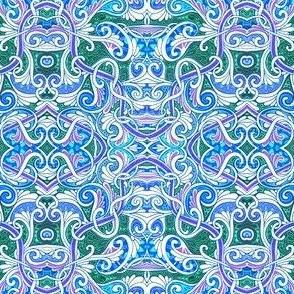 Curly Swirly Paisley Overkill