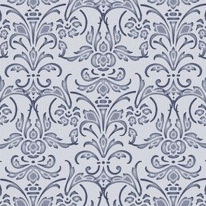 Christobel Damask ~ Blue