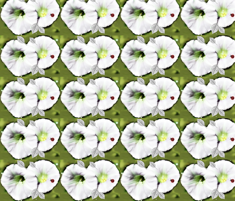 Petunias fabric by likesjewellery on Spoonflower - custom fabric