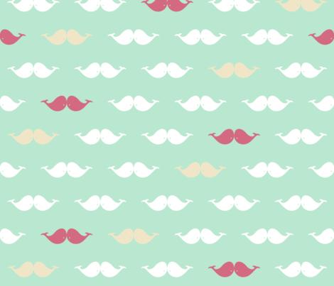 Whale vs Mustache