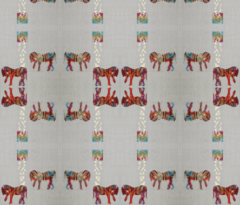 Equine_4 fabric by suebee on Spoonflower - custom fabric