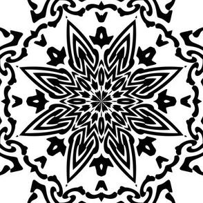 Floral Pattern 2 Large