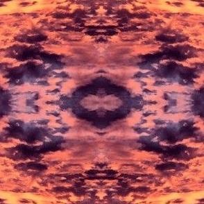 Vibrant sunset