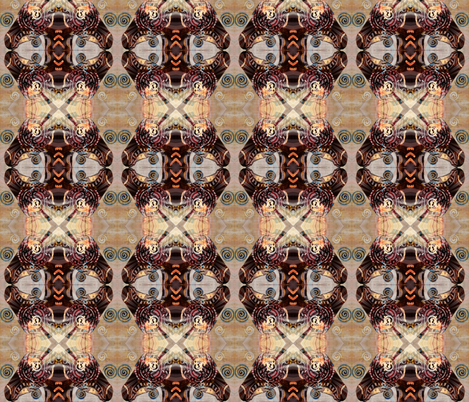 Ode_to_Egypt fabric by suebee on Spoonflower - custom fabric