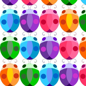 Rainbow Bugs - Inline