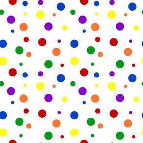Bold Rainbow Dots - Small