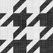 Rlinen_luxe___houndstooth_check___black_and_white___peacoquette_designs___copyright_2014_shop_thumb
