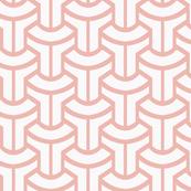Lavender Linen Geometric Possibility
