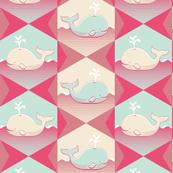 Geometric Whale Swim