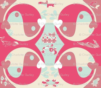 Yin Yang Whales