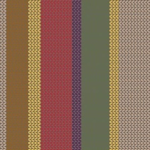 4th Doctor's Scarf Sweater Texture
