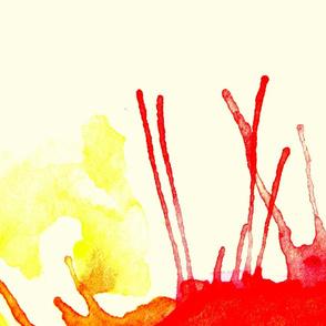 Watercolour Sun IV