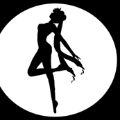 Sailor Moon Silhouette -black-